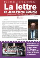 La Lettre de Jean-Pierre Bosino - Septembre 2017