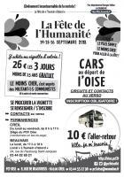 Flyer « Fête de l'Humanité : vignettes et trajets en car » - PCF Oise, 31 août 2018