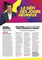 Tract « Le défi des Jours heureux » - PCF Oise, 21 août 2021