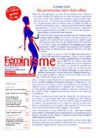 Féminisme - Communisme. Numéro de mars 2018
