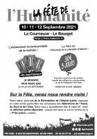 Flyer « Fête de l'Humanité : bons de soutien et trajets en car au départ de l'Oise » - PCF Oise, 30 août 2021