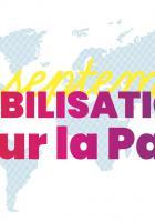 25 septembre. Mobilisation pour la paix