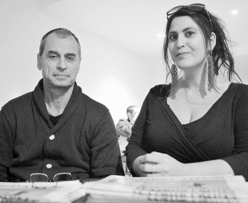 Eitan et Éléonore. Les militants refusent l'injustice
